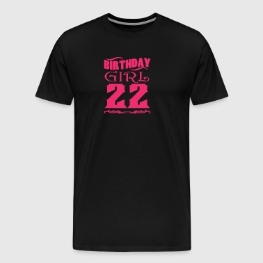 Birthday Girl 22 years old - Men's Premium T-Shirt