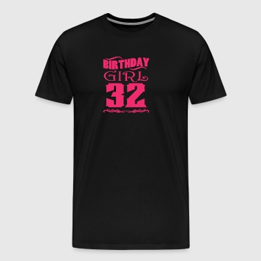 Birthday Girl 32 years old - Men's Premium T-Shirt