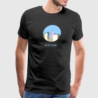 City art New York - Men's Premium T-Shirt