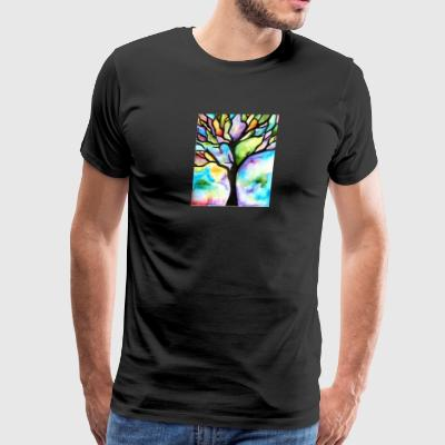 Tree patterns - Men's Premium T-Shirt