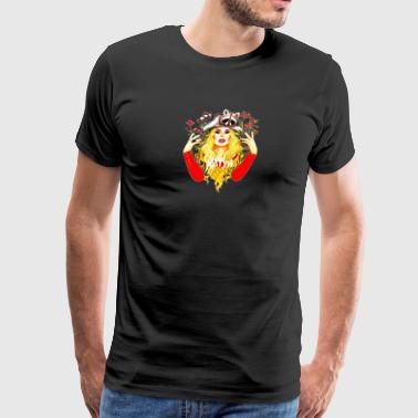 Flower Katya - Men's Premium T-Shirt