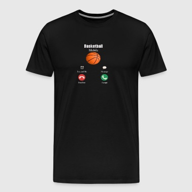 Basketball mobi shirt, Basketball shirt - Men's Premium T-Shirt