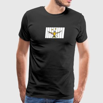 Caged Bird - Men's Premium T-Shirt