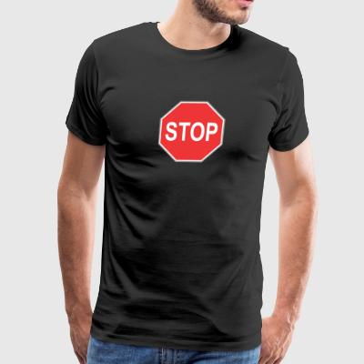 Stop_sign - Men's Premium T-Shirt