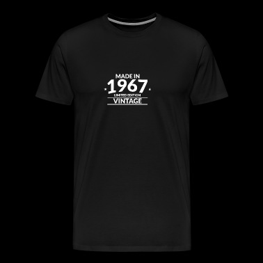 Made in 1967 Limited Edition Vintage - Men's Premium T-Shirt