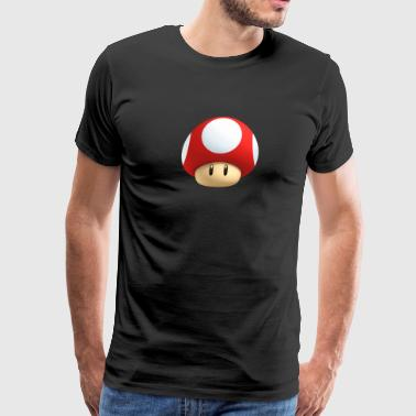 super mario brothers mushroom - Men's Premium T-Shirt
