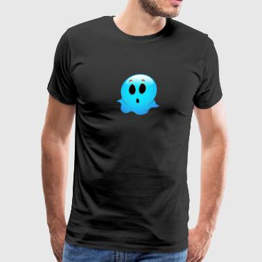 blue_ghost_face-01 - Men's Premium T-Shirt