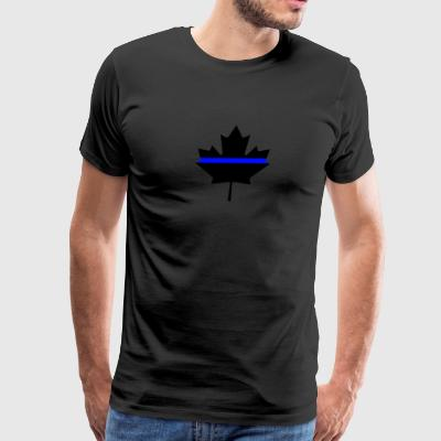 Canada Thin Blue Line - Men's Premium T-Shirt