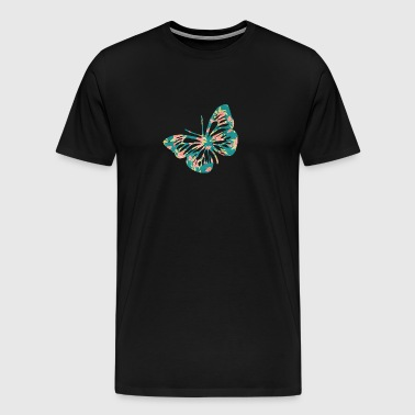 Colorful Butterfly - Men's Premium T-Shirt