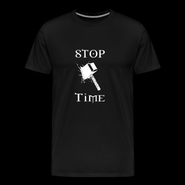 Stop Hammer Time - Men's Premium T-Shirt