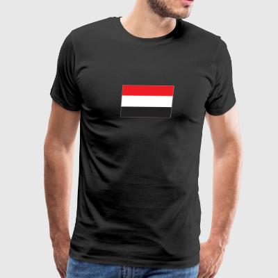 Yemen flag - Men's Premium T-Shirt