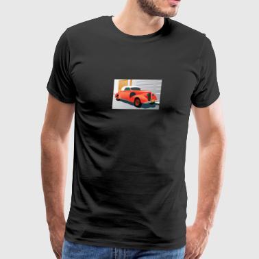 RED BUICK 1938 SPECIAL CONVERTIBLE - Men's Premium T-Shirt