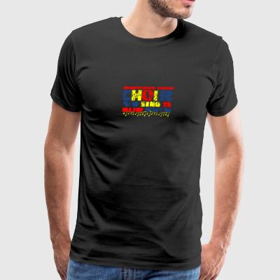Midtown High Choir To Sing Is Our Thing - Men's Premium T-Shirt