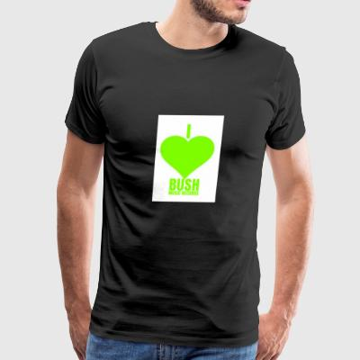 I Love Bush Music Records - Men's Premium T-Shirt