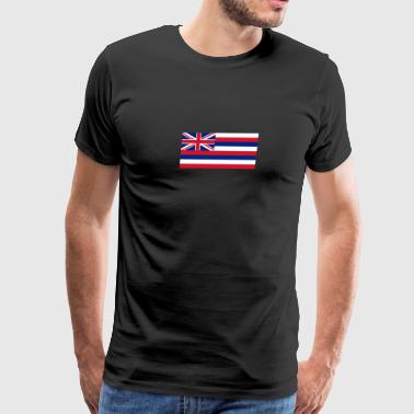 Hawaiian Flag - Men's Premium T-Shirt