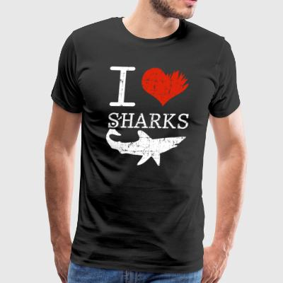 Shark Tee Shirt - Men's Premium T-Shirt