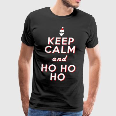 santa Keep calm - Men's Premium T-Shirt