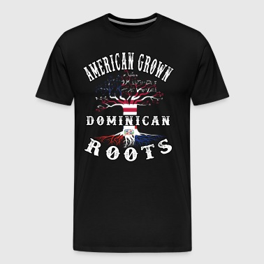 t American Grown Dominican Roots - Men's Premium T-Shirt