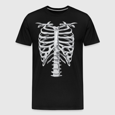 Skeleton Costume - Men's Premium T-Shirt