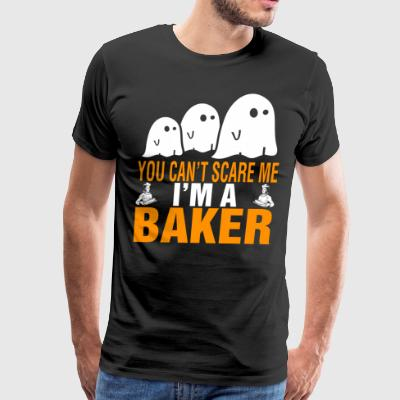 You Cant Scare Me Im Baker Halloween - Men's Premium T-Shirt