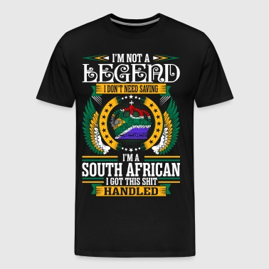 Im Not Legend South African - Men's Premium T-Shirt