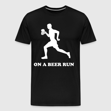 On a beer run - Men's Premium T-Shirt