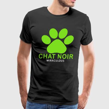 miraculous Chat Noir Funny Saying - Men's Premium T-Shirt