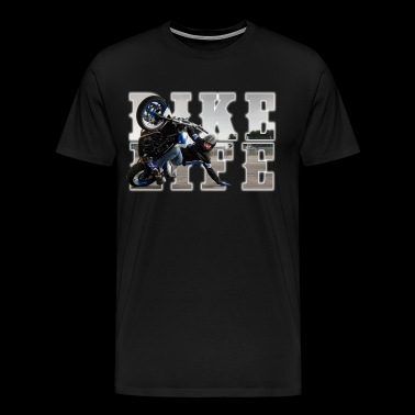 bikelife phototext - Men's Premium T-Shirt