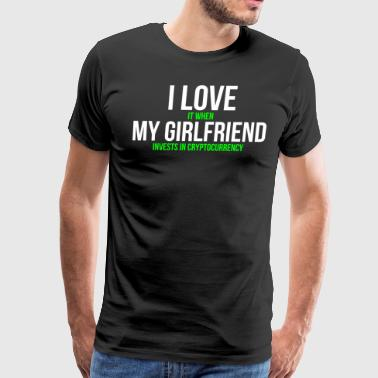 Funny Cryptocurrency Girlfriend T-shirt - Men's Premium T-Shirt