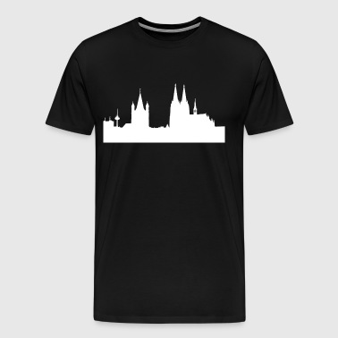 Cologne Dom germany colonia carneval gift idea - Men's Premium T-Shirt