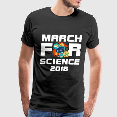 March For Science 2018 - Men's Premium T-Shirt