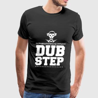 Dubstep music electric bass - Men's Premium T-Shirt