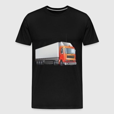 transport truck wagon transportation cars 02 - Men's Premium T-Shirt