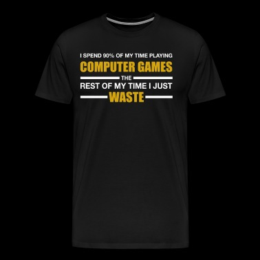 Computer Gaming - Men's Premium T-Shirt