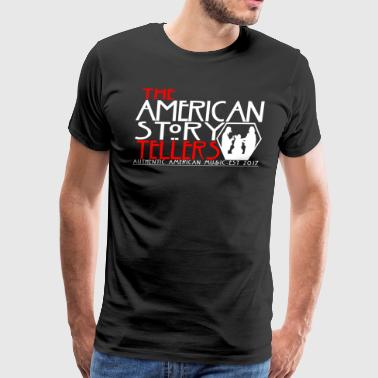 American Storyteller Horror Black - Men's Premium T-Shirt