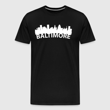 Arc Skyline Of Baltimore MD - Men's Premium T-Shirt