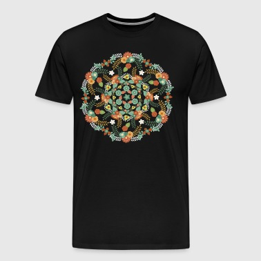 Flower mandala - Men's Premium T-Shirt