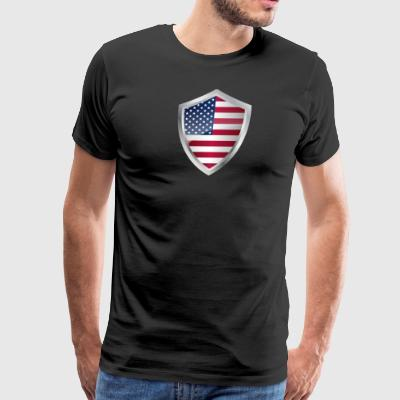 Emblem USA - Men's Premium T-Shirt