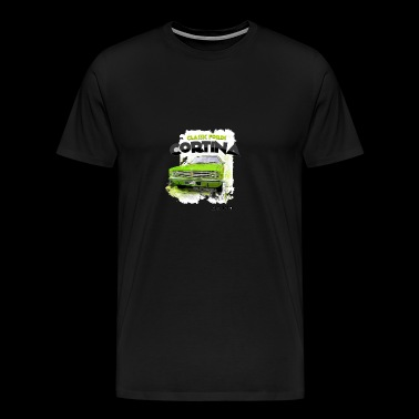 Classic Car Cortina Fords - Men's Premium T-Shirt