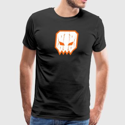 Animattronic Square Skull Tech - Men's Premium T-Shirt