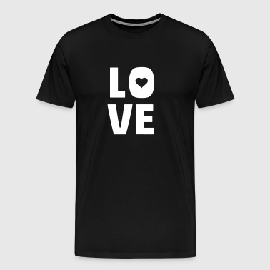 love (dh) - Men's Premium T-Shirt