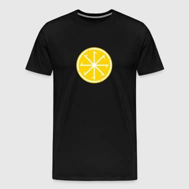 Sun Wheel Sunna No.1_2c - Men's Premium T-Shirt