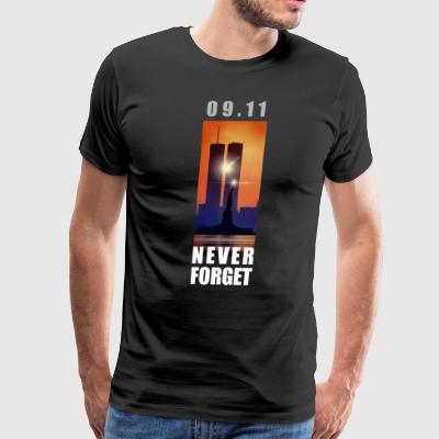09,11 - September 11 attacks - New York - WTC - Men's Premium T-Shirt