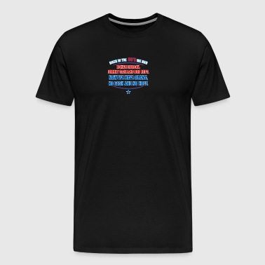 Reagan Obama - Men's Premium T-Shirt