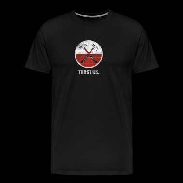 Roger Waters Trust Us Pink Floyd Progressive - Men's Premium T-Shirt