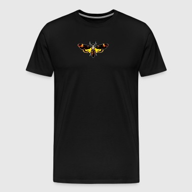 Silence Of The Lambs Butterfly Moth - Men's Premium T-Shirt