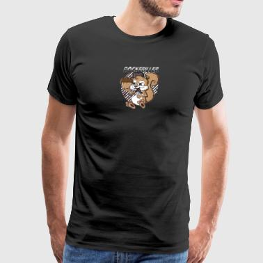 Jumping Squirrel - Men's Premium T-Shirt