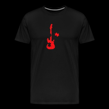 Guitar Puzzle - Men's Premium T-Shirt