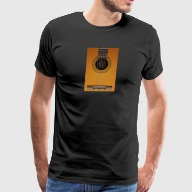 classical guitar - Men's Premium T-Shirt