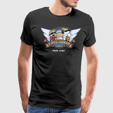 Video Game Cyber System - Men's Premium T-Shirt